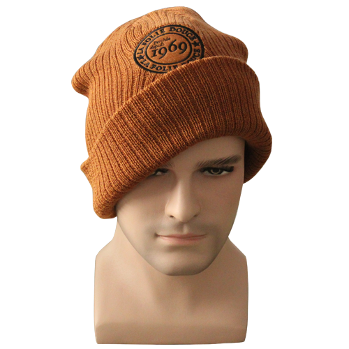 winter hat brown